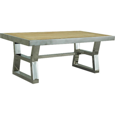 ARTELORE HOME ANISH 200 DINING TABLE RECYCLED ELM