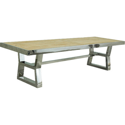 ARTELORE HOME ANISH 300 DINING TABLE RECYCLED ELM