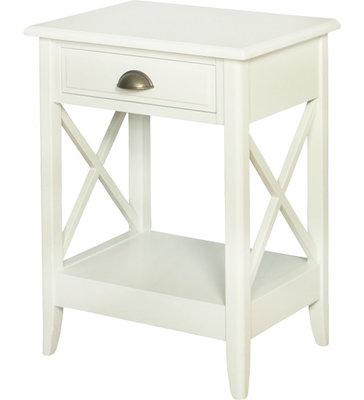 ARTELORE HOME WHITE ENEKO BEDSIDE TABLE
