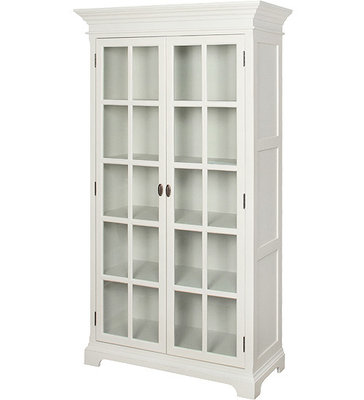 ARTELORE HOME ARRATE GLASS-FRONTED VITRINE