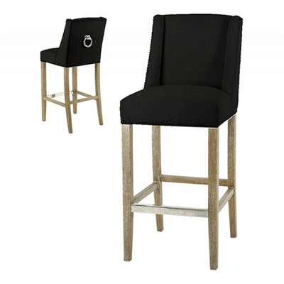 Artelore Home Barstool Brens-Black