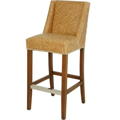 Artelore Home BRENS LEATHER BAR CHAIR