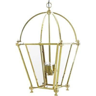 Duhr Brass Hanging Lamp Artelore Home