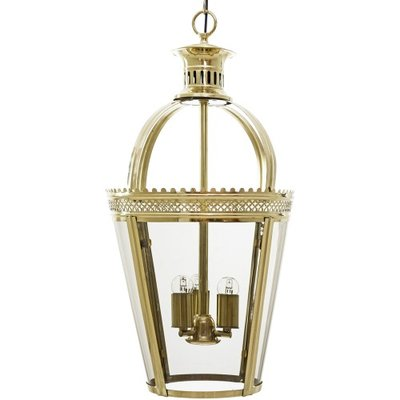 Kiffa Brass Hanging Lamp Artelore Home