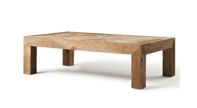 Toscane Coffee Table  Small Natural Flamant