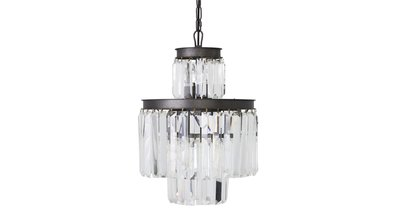 Tireno H49 Chandelier Flamant