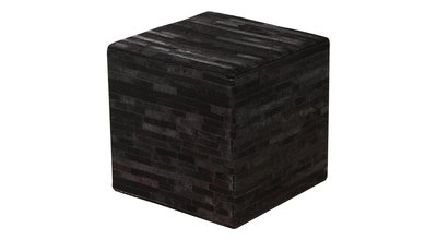 Footstool Azzo Black Flamant