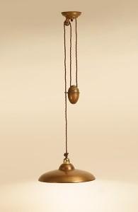 Tierlantijn Hanglamp Mireta 1 Copper