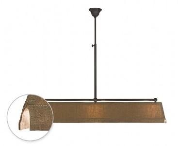 Tierlantijn  Hanglamp Vechia Mat zwart