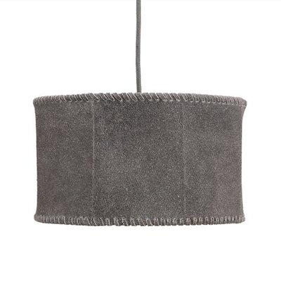 PTMD hanglamp Chester grey Leather