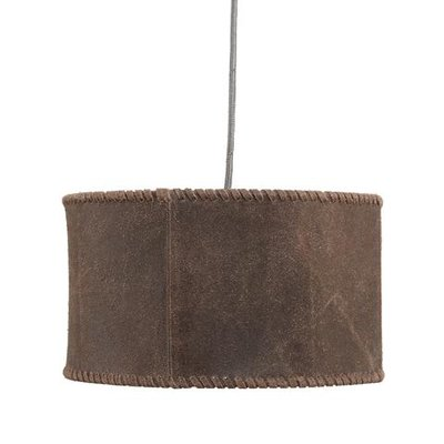 PTMD hanglamp Chester brown Leather