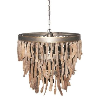 PTMD hanglamp Branch brown wood 673563