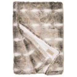 WinterHome Plaid Snow Rabbit 99473 140 x 200
