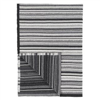 Designers Guild plaid  Turrill Charcoal