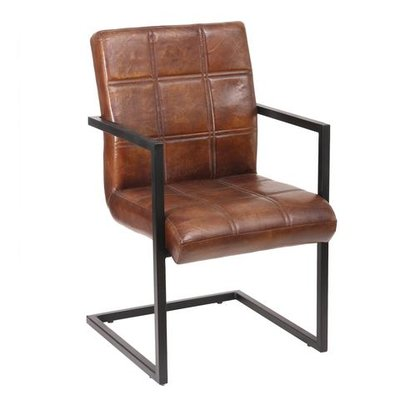 PTMD Biker Chair Cognac