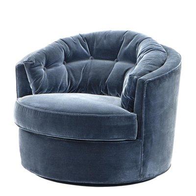 Eichholtz Chair Recla Cameron Blue 110307