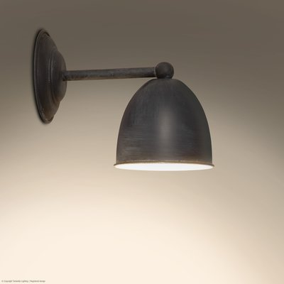 Frezoli Lighting wandlamp Conzone Mat Zwart