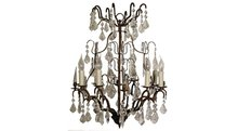 Victoria-Antique-Rust--Chandelier-(8-Candles)-Flamant