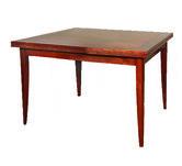 Artelore Home Dining Table BROWN ENEKO 90/160*90*76