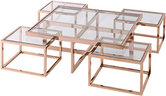 Coffee Table Cruze Gold Artelore Home