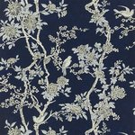 Marlowe Floral Prussian Blue - PRL048/04