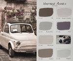 Carte Colori kleurenkaart Vintage Ashes