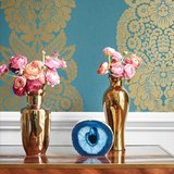 Thibaut Rowan Damask behang collectie via di Alma Interiors
