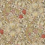 Morris & Co Golden Lily Biscuit/Brick 216462