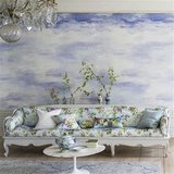 Designers Guild Wallpaper Collectie Marquisette, Cielo