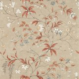 Zoffany Darnley Chambalon Trail 312852 Sunstone Linen