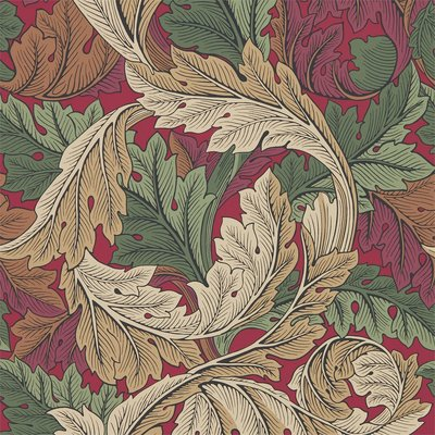 Morris & Co Acanthus Madder/Thyme 216439