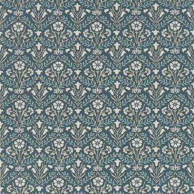 Morris & Co Bellflowers Indigo/Linen 216436