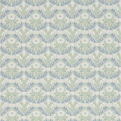Morris & Co Bellflowers Grey/Fennel 216435