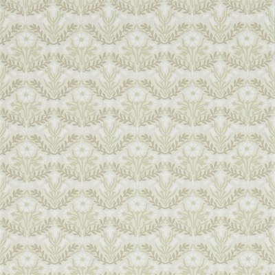 Morris & Co Bellflowers Manilla/Olive 216434