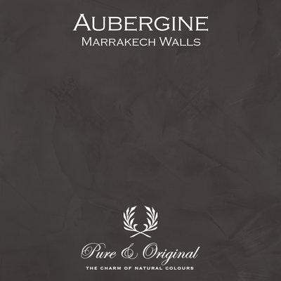 Pure & Original Marrakech Walls Aubergine Red Brown