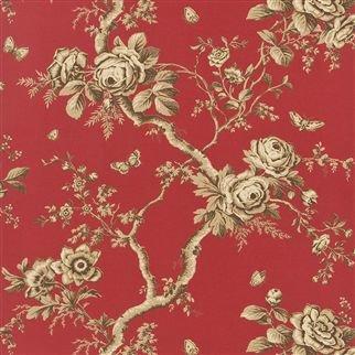 Ralph Lauren Ashfield Floral Balmoral Red PRL027/09