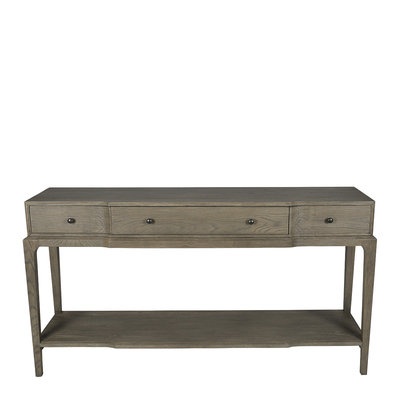 Blanc d'Ivoire Side Table Ana Grey Oak