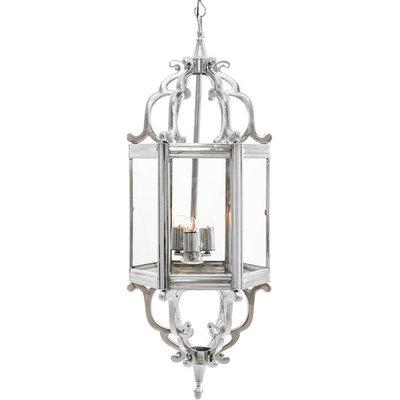 Asterion Nickel Hanging Lamp Artelore Home