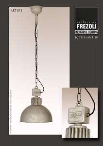 Tierlantijn Hanglamp Raz Aluminium Grey Frezoli