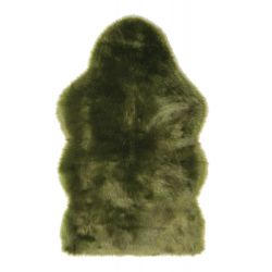 WinterHome Sheepskin Green Wolf 99680