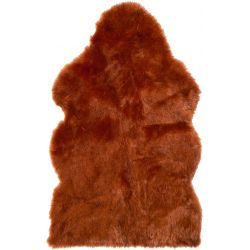 WinterHome Sheepskin Sunset Wolf 99026