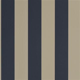 Ralph Lauren Spalding Stripe Navy-Sand
