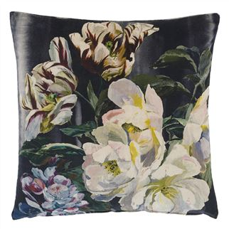 Designers Guild Kussen Delft Flower Noir