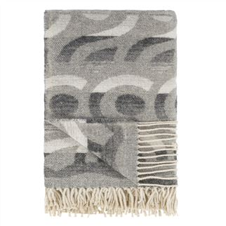 Designers Guild plaid Latticino Graphite