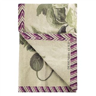 Designers Guild plaid Delft Flower Tuberose