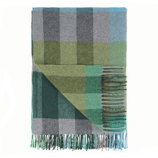 Designers Guild plaid Bamptom Emerald