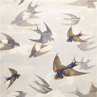 Designers Guild Chimney Swallows Dawn