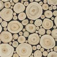 Sanderson Alnwick Logs Lacquer Black 216510