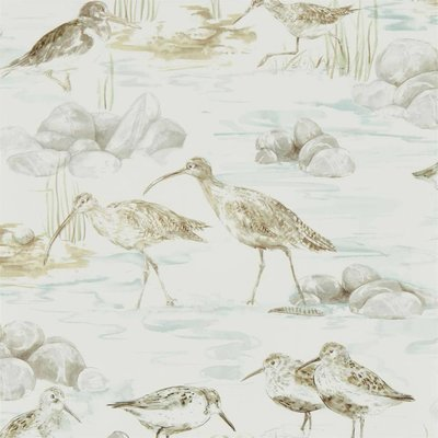 Sanderson Estuary Birds Mist Ivory 216494