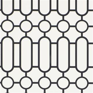 Designers Guild PORDEN - BLACK AND WHITE P537/03